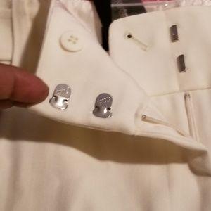 Cream colored  womens slacks